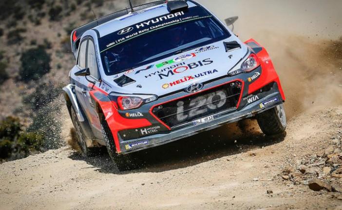 WRC: Neuville lidera el shakedown en Portugal