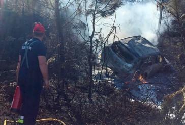 WRC: Paddon se accidentó  y su auto terminó calcinado
