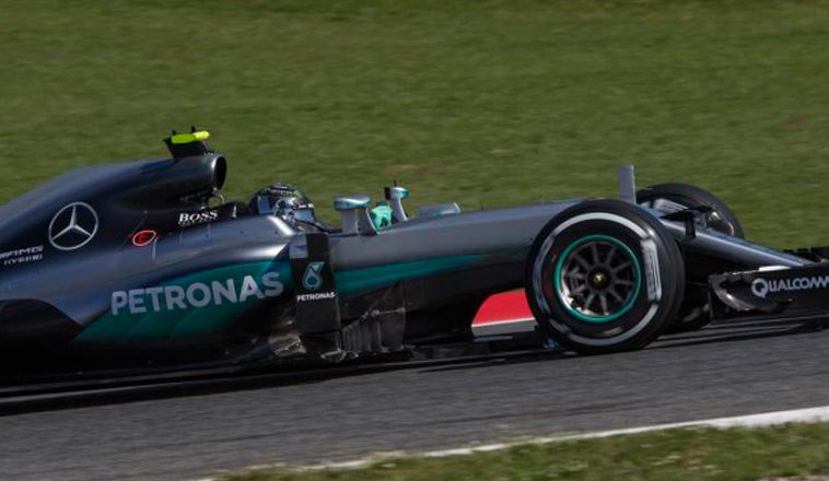 Fórmula 1: Rosberg encabezó los Libres 2