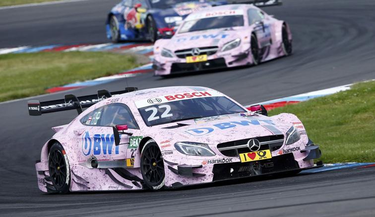 DTM: Primera victoria de Auer en la categoría