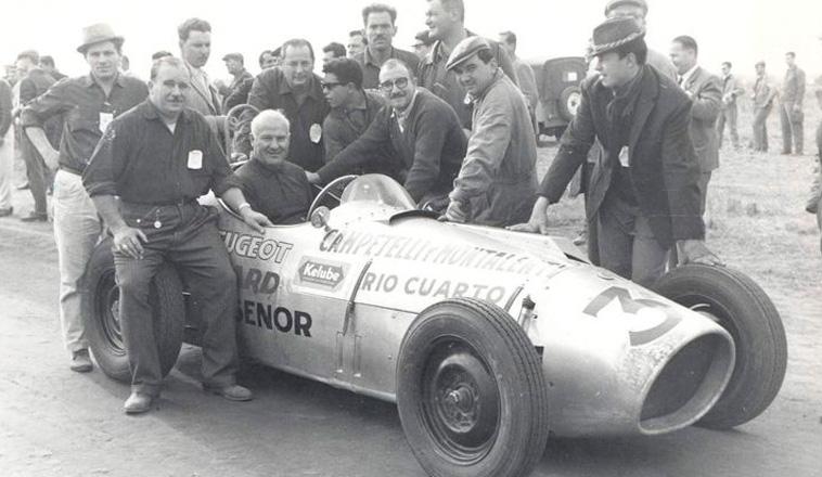 9 de junio de 1963, Remigio Caldara se llevaba el triunfo en la MAF 1