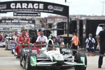 Indy Car: Se pospuso la carrera de Texas debido a la lluvia