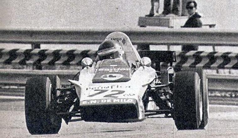 30 de junio de 1974, Carlos Jarque debutaba en la F3 europea