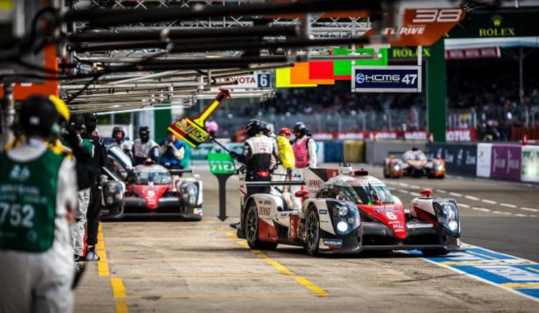 24 horas de Le Mans:  En la sexta hora, Kobayashi establece nueva vuelta más rápida
