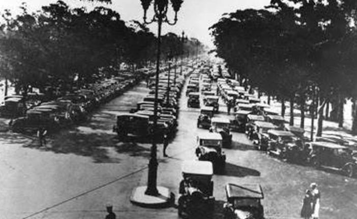 10 de junio de 1945, se cambia el sentido del tránsito en Argentina