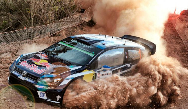 WRC: Ogier lidera en Cerdeña