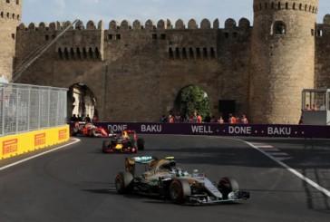 Fórmula 1: Rosberg ganó en Bakú