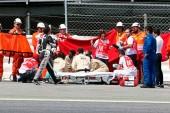 MotoGP: Grave accidente de Luis Salom en Montmeló