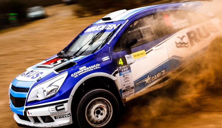 Rally Argentino: Cancio ganó la etapa en Tafí del Valle
