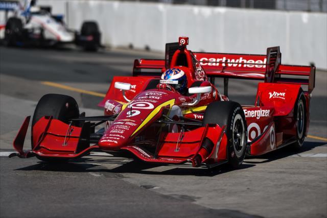 Indy Car: Dixon gana la pole en Toronto