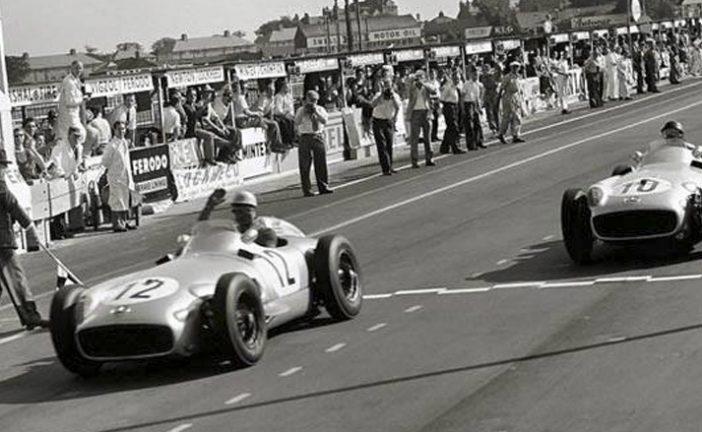 16 de julio de 1955, Fangio se coronaba por 3ª vez campeón