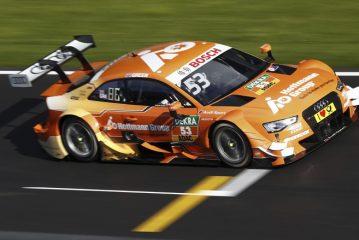 DTM: Jamie Green celebra en la segunda carrera