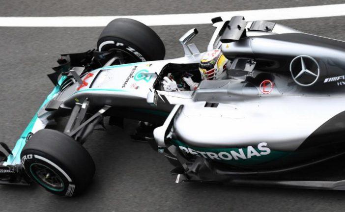 Fórmula 1: Hamilton domina en los primeros libres de Silverstone
