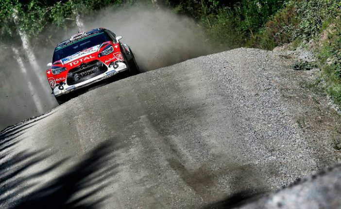 WRC: Meeke, claro líder en Finlandia