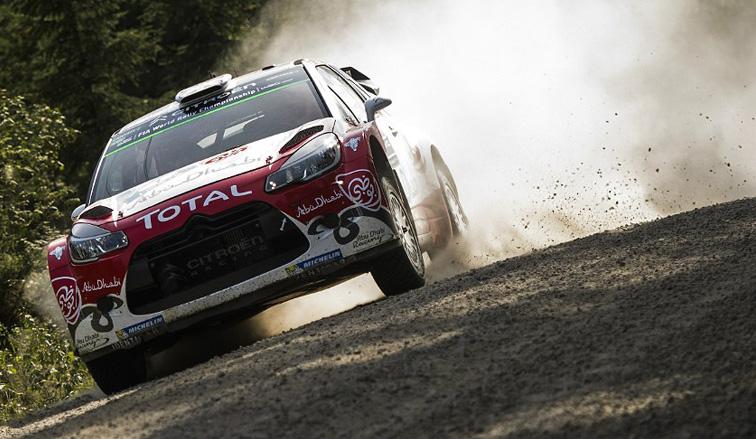 WRC: Meeke sigue controlando en Finlandia