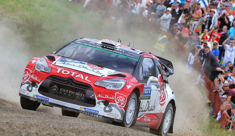 WRC: Meeke cerca de ganar en Finlandia y Ligato se pudo reenganchar