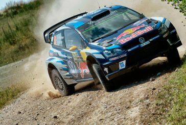 WRC: Mikkelsen líder en Polonia