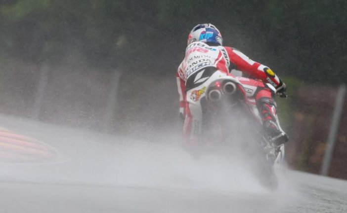 MotoGP: Pawi reina bajo la lluvia en Sachsenring