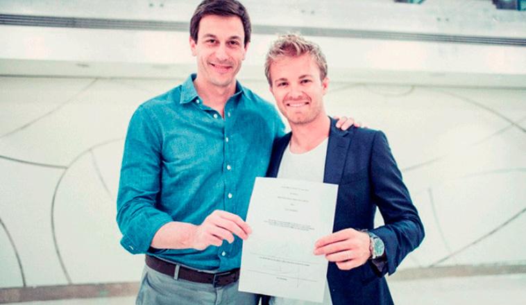 Fórmula 1: Mercedes renueva a Nico Rosberg dos temporadas