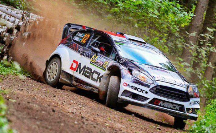 WRC: Tanak sigue adelante en el primer tramo del día