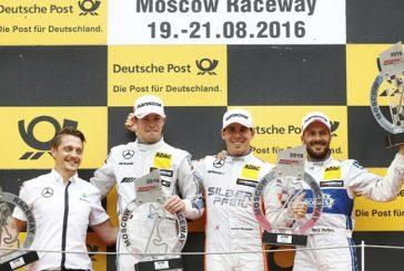 DTM: Póquer de Mercedes-Benz en Moscú