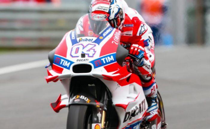 MotoGP:  Dovizioso sigue al mando en la FP4