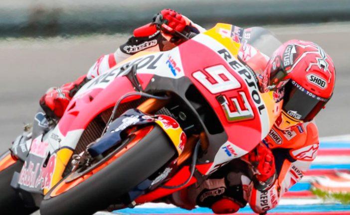 MotoGP: Márquez firma el mejor tiempo en la FP2