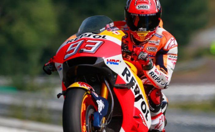 MotoGP: Márquez logra una magistral pole en Brno