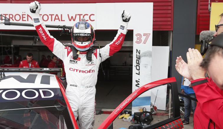 """WTCC: """"Pechito"""" López y una nueva pole"""