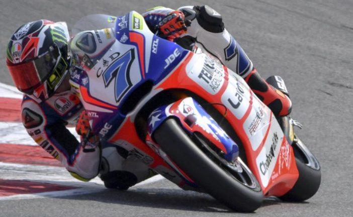 MotoGP: en Moto2, Baldassarri se impone a Rins en San Marino