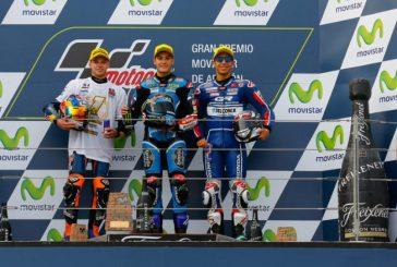 MotoGP: Victoria de Navarro y título mundial para Binder en Aragón en Moto3