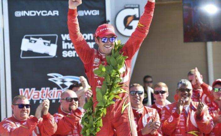 Indy Car: Scott Dixon llega a la victoria 40