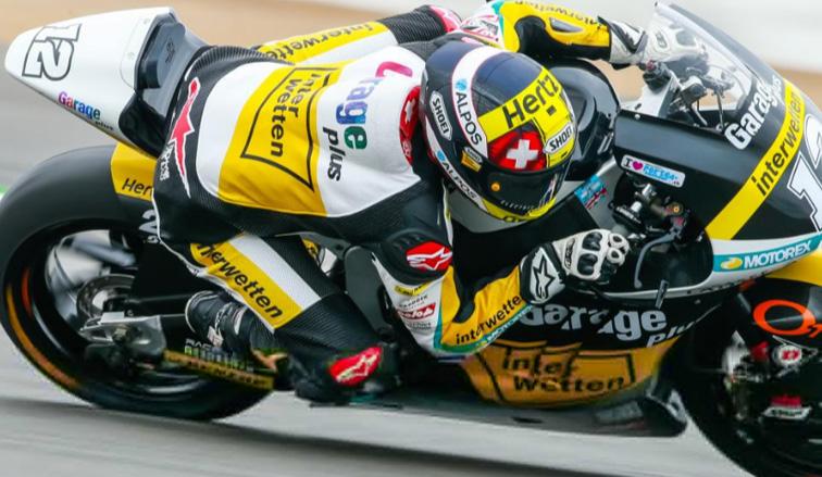 MotoGP: en Moto2, Luthi sorprende a los favoritos en Silverstone