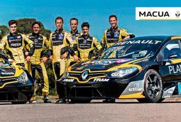 STC2000: Conferencia de prensa del equipo Renault en Macua