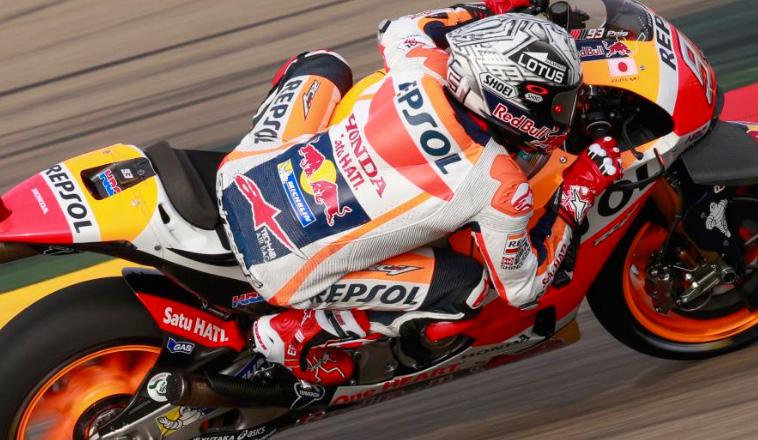 MotoGP: Márquez, el más rápido de la FP1 en MotorLand