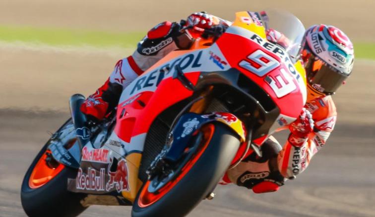 MotoGP: Márquez continúa al mando tras la FP4