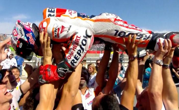 MotoGP: Márquez, más cerca del título con su victoria en Aragón