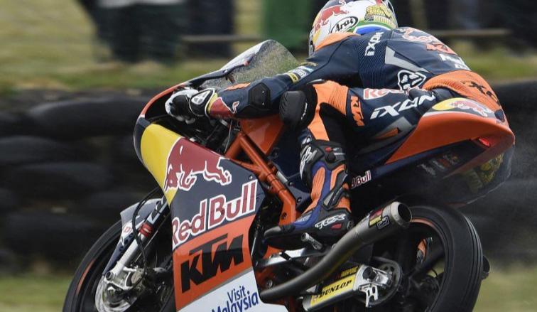 MotoGP: Binder partirá primero en la carrera de Moto3