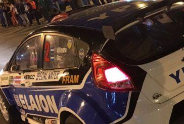 Rally Argentino: Villagra en el nocturno, Ligato en la etapa
