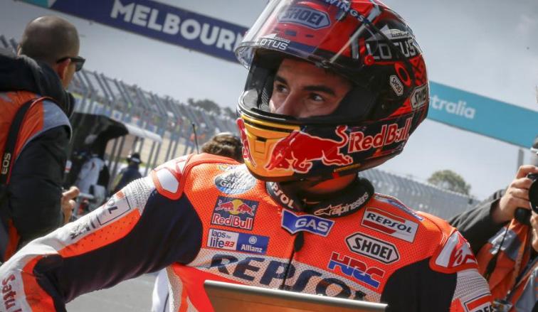 MotoGP: Márquez lideró el test