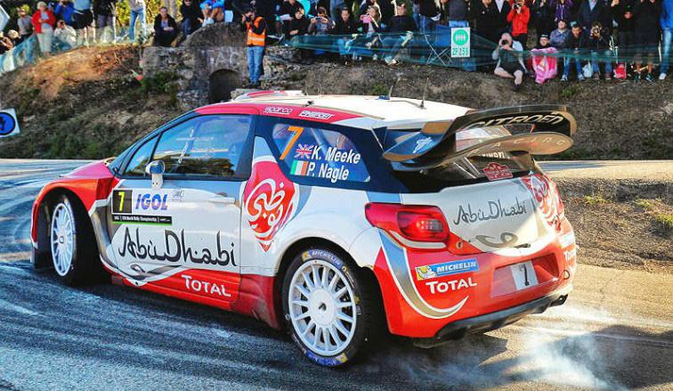WRC: Meeke rompe con la racha ganadora de Ogier