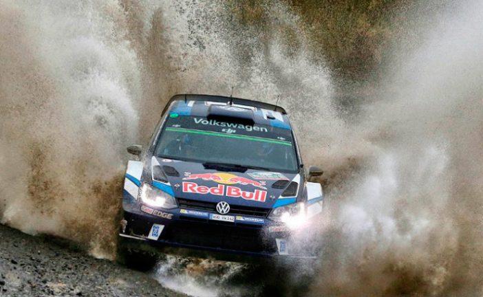 WRC: Ogier tomó las riendas del rally de Gales