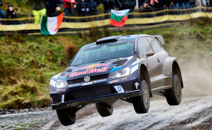 WRC: Ogier domina en el barro de Gales