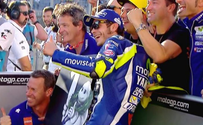 MotoGP: Pole position para Rossi en Japón