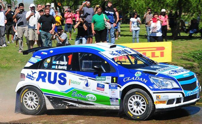 Rally Argentino: Ligato se siente muy cómodo en Entre Ríos