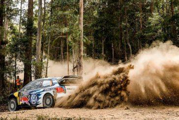 WRC: Mikkelsen sigue con su liderazgo en Australia