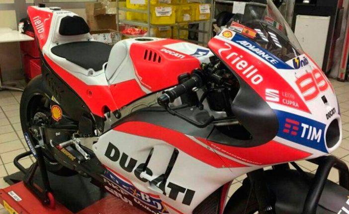 Moto GP: Se filtró una foto de la Ducati que usará Lorenzo