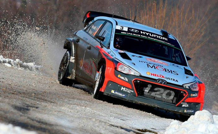 WRC: Neuville lider en Monte Carlo