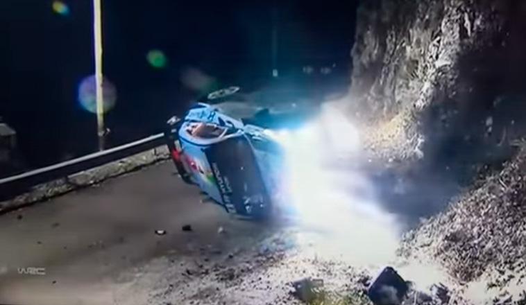 WRC: Se cancela el primer tramo por un choque de Paddon