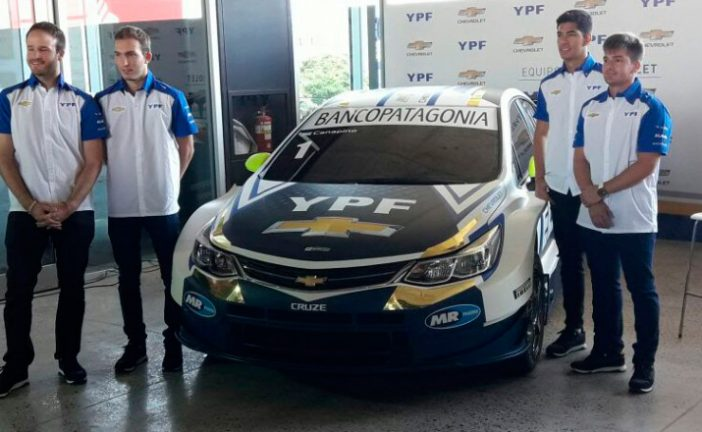 STC2000: Chevrolet presentó el equipo